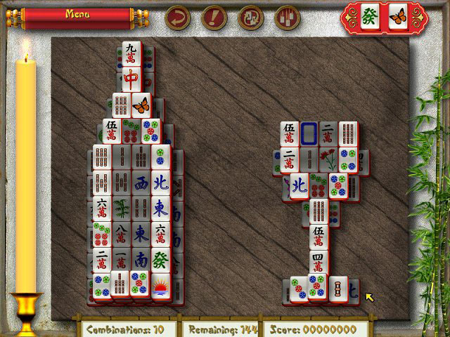Mahjong Max screen shot