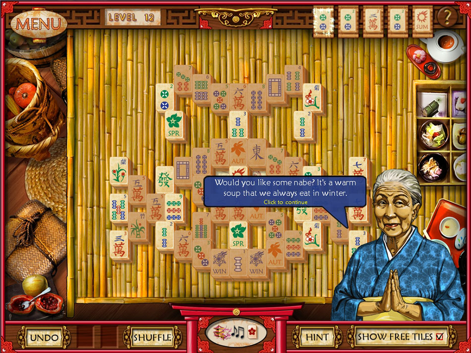 Mahjong Memoirs screen shot