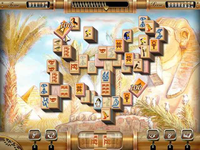 Mahjong: Mysteries of the Past screen shot