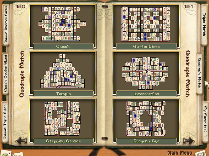 Mahjong Quest 3 screen shot