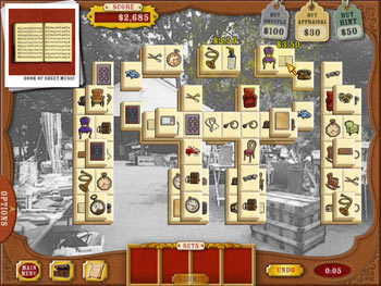 Mahjong Roadshow screen shot