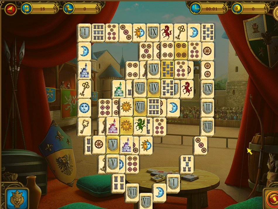 Mahjong Royal Towers screen shot