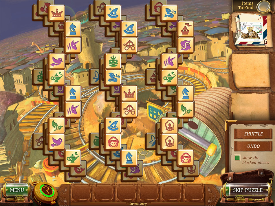 Mahjong Secrets screen shot