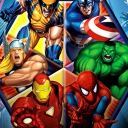 Marvel Hangman - logo