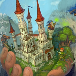 Majesty: Fantasy Kingdom Sim - In Majesty: Fantasy Kingdom Sim, you become head of a country and all the responsibility for the land's prosperity rests on your royal shoulders! - logo