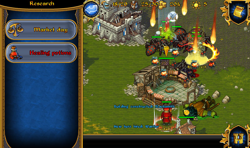 Majesty: Fantasy Kingdom Sim screen shot