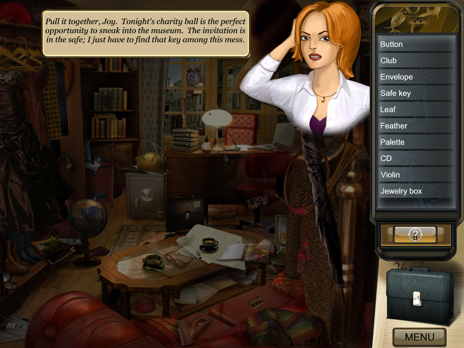 Masquerade Mysteries - Case of the Copycat Curator screen shot