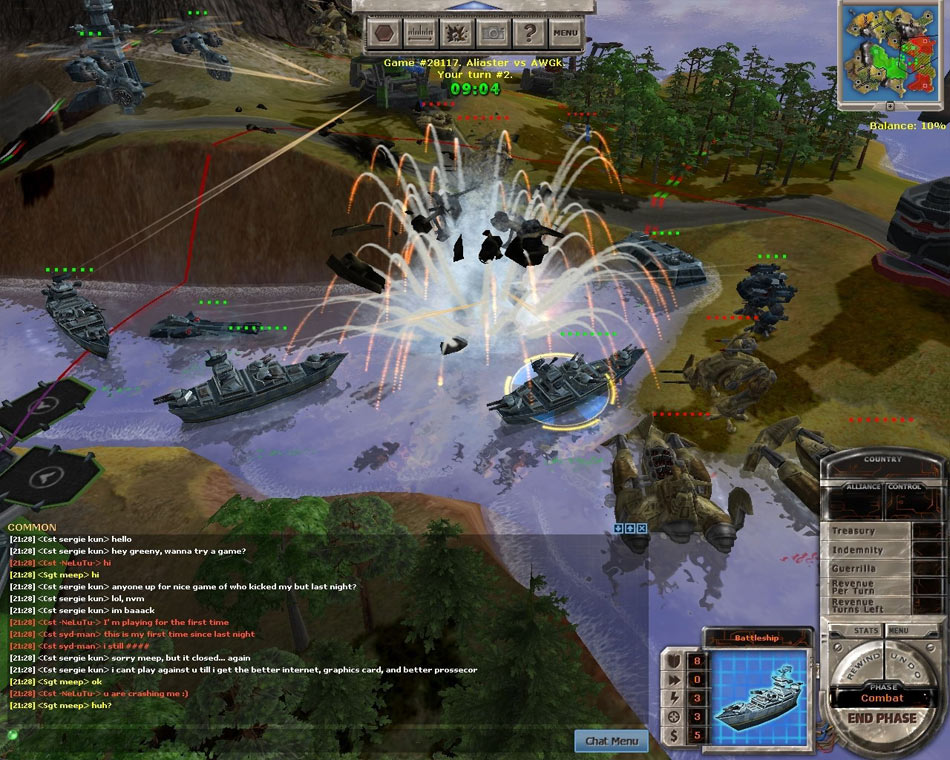 Massive Assault Network 2 screen shot