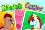 Match Cuties is an adorable card-matching memory game that features cats, ponies, doves, and bunnies. Play Match Cuties for FREE!