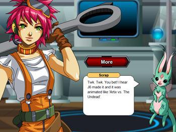 Mech Quest screen shot