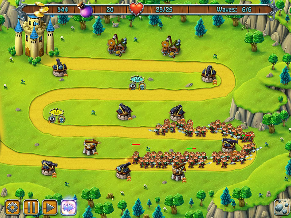 Medieval Defenders screen shot