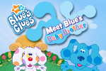 Help Joe and Blue search Puppyville to find Blue's baby brother! Use your sharp eye to spot clues of different shapes, numbers, letters, and colors.