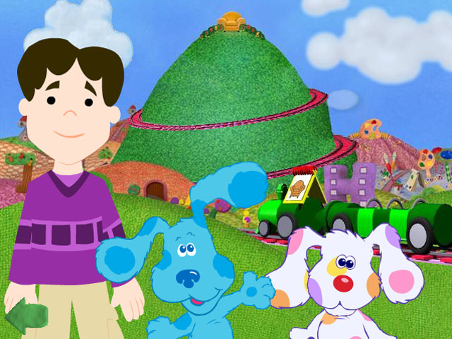 Blue's Clues: Meet Blue's Baby Brother screen shot