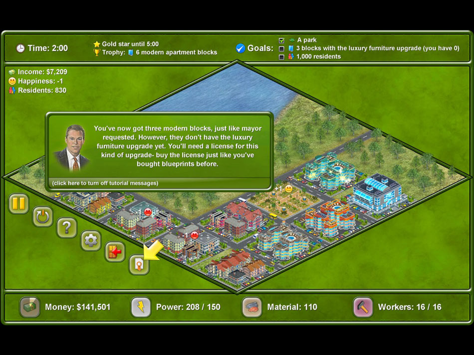 Megapolis screen shot