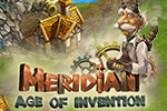 The kingdom is in ruins and only you can restore its grandeur in the time and resource management game Meridian:  Age of Invention.