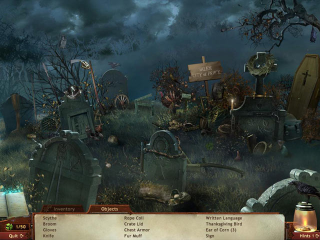 Midnight Mysteries- Salem Witch Trials screen shot