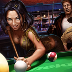 Midnight Pool 3D - Midnight Pool 3D takes you into the intense universe of American pool bars. - logo