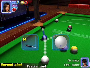 Midnight Pool 3D screen shot