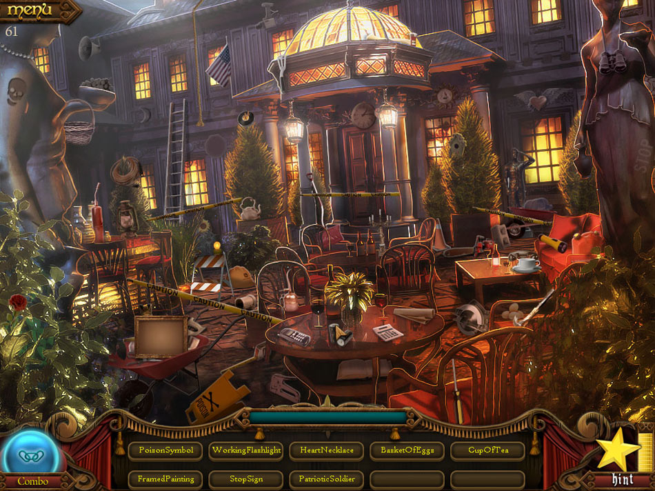 Millionaire Manor: The Hidden Object Show 3 screen shot