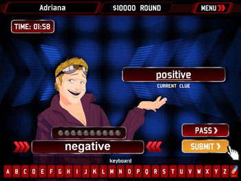 Million Dollar Password 2009 Edition screen shot