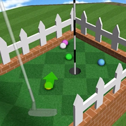 Mini Golf Mayhem - Grab your closest friends for 50 holes of mayhem! - logo