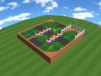 Mini Golf Mayhem screen shot