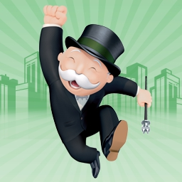 MONOPOLY® - Build your fortune as you buy, sell and trade the world's most famous properties. It's classic MONOPOLY fun! - logo