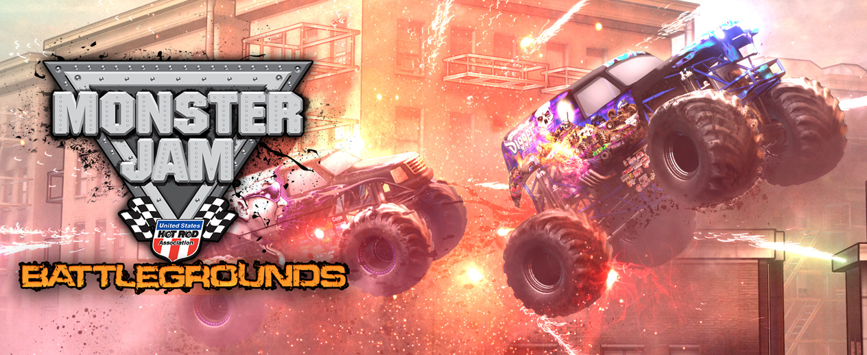 Monster Jam Battlegrounds - The ultimate experience!