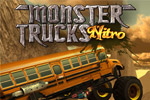 Race and jump extreme trucks on thrilling tracks in Monster Trucks Nitro!