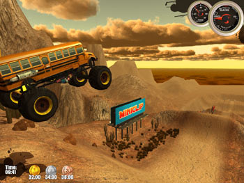 Monster Trucks Nitro screen shot