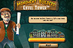 Can you construct Paris' most iconic building?  Improve Parisian neighborhoods and manage your resources in Monument Builders: Eiffel Tower.