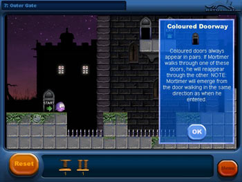 Mortimer and The Enchanted Castle screen shot