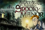 Search a ghostly setting to discover the secrets of Spooky Manor!