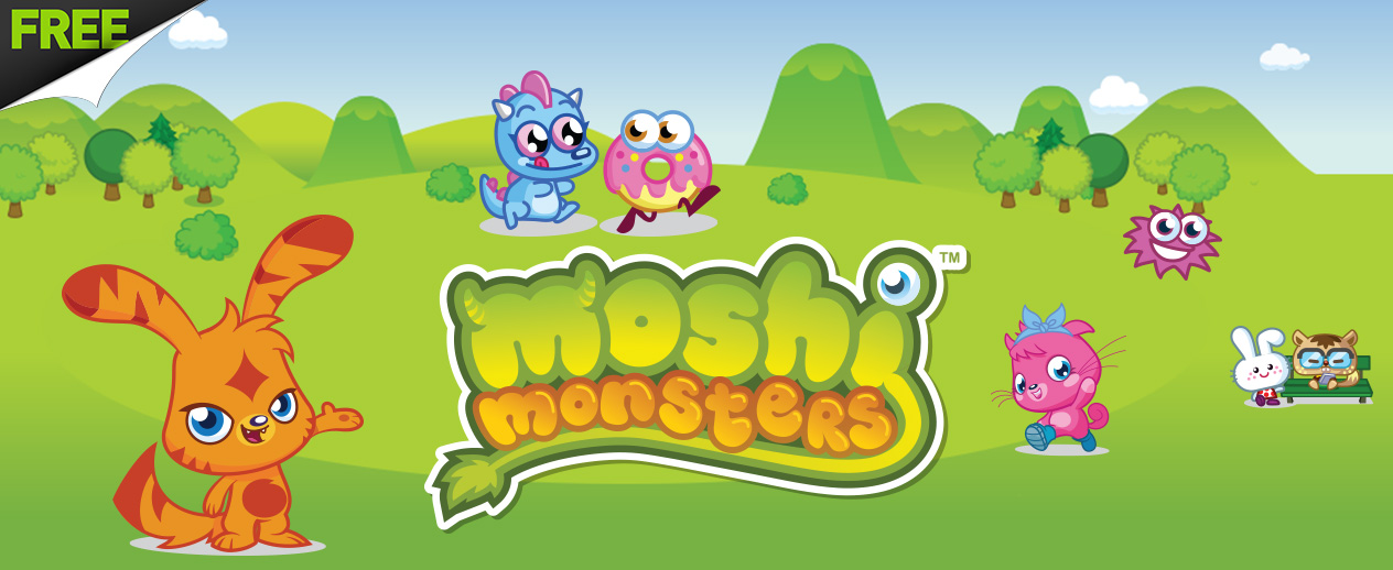 Moshi Monsters - Kids - adopt a Monster and explore!