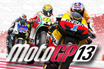 Become a rider in the MotoGP™ 13 world!  Race like a pro in this game that contains the officially licensed riders, teams, tracks and rules!