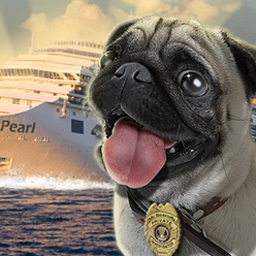 Mr. Biscuits - The Case of the Ocean Pearl - Help a pug search for clues in Mr. Biscuits - The Case of the Ocean Pearl! - logo