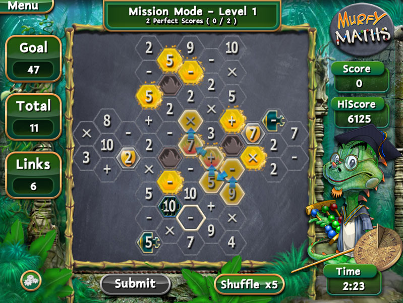 Murfy Maths screen shot