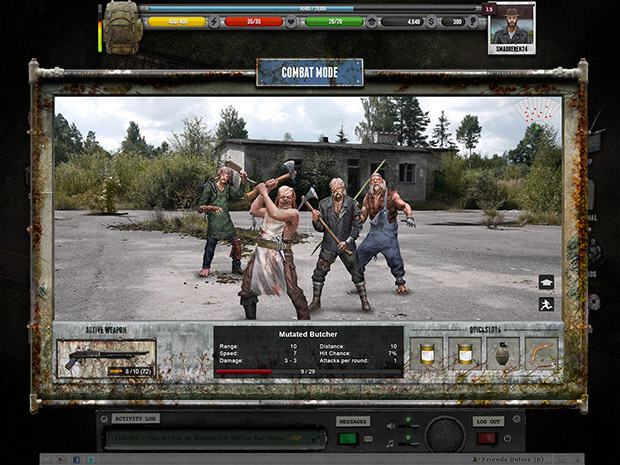 Mutant Badlands screen shot