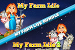 Check out the My Farm Life Bundle, featuring two games of fun farming action! Help Lisa run an ordinary farm, then maintain a rooftop garden!