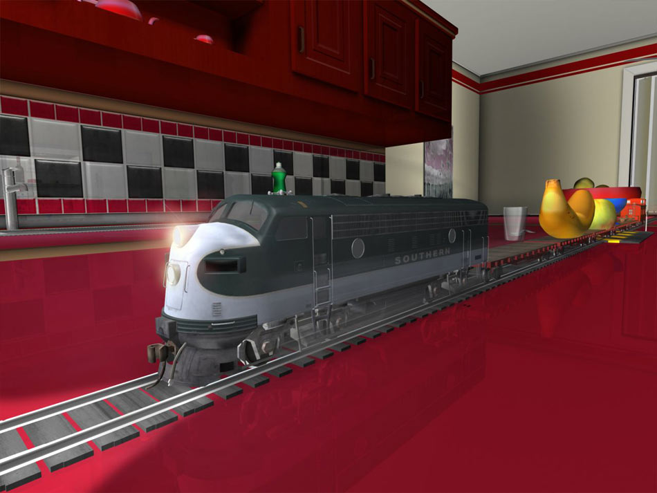 My First Trainz Set screen shot