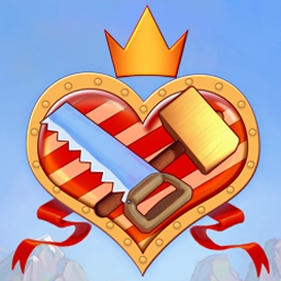 My Kingdom for the Princess - Restore a kingdom in this funny strategy game: My Kingdom for the Princess! - logo