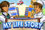 My Life Story is a fun simulation game - get a job, an apartment, and more!