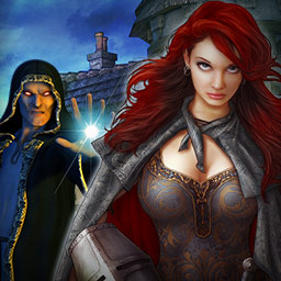 Mysteries of Neverville: The Runestone of Light - In the hidden object game Mysteries of Neverville: The Runestone of Light, you must find the runestone and save your town from evil! - logo
