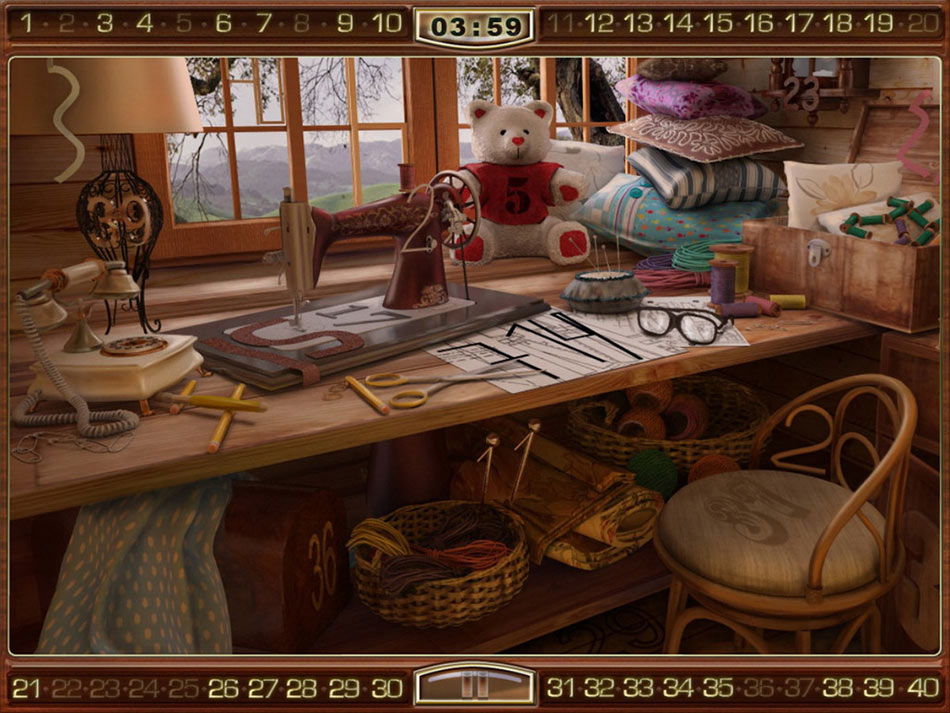 Mysteriez: Hidden Numbers screen shot