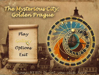 The Mysterious City - Golden Prague screen shot