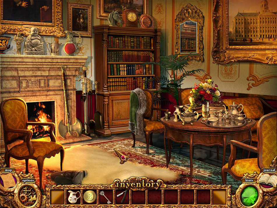 Mystery Murders: The Sleeping Palace screen shot
