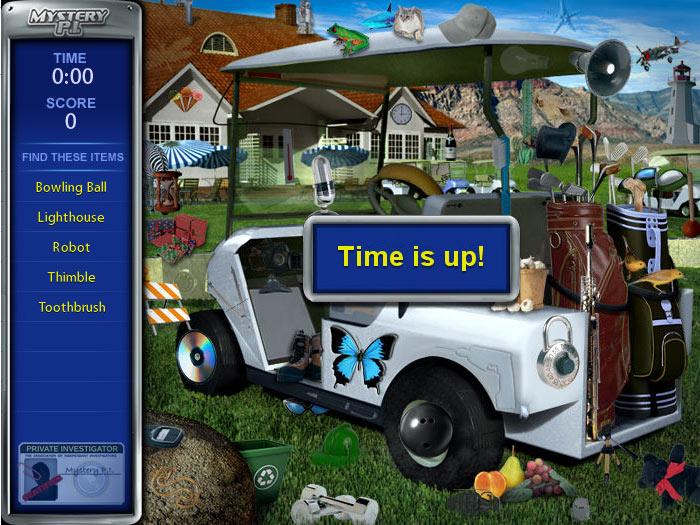 Cash Tournaments - Mystery P.I. screen shot