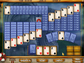 Mystery Solitaire - Secret Island screen shot
