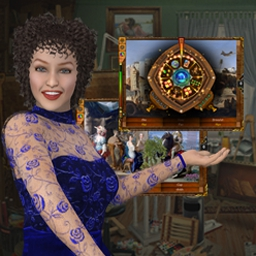 Mystic Gallery - Restore fine art in Mystic Gallery, a classic hidden object game. - logo