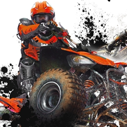 nail'd - nail'd takes extreme ATV and motocross racing to a whole new level. - logo